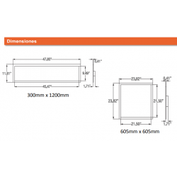 PANEL 32W GAMA DIMMABLE 605X605 LEDVANCE