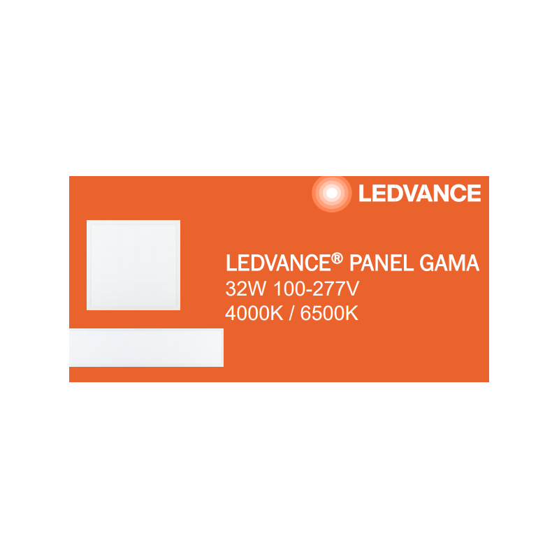 PANEL 32W GAMA DIMMABLE 30X120CM LEDVANCE