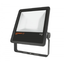 FLOODLIGHT 200W/850 NEGRO -...